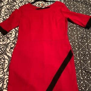 Dresses & Skirts - Red Asymmetrical BodyCon Dress